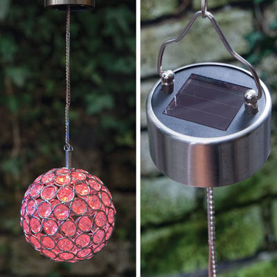 Solar Color-Changing Led Hanging Ball
