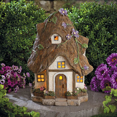Solar Dog Breed Lantern- Cottage