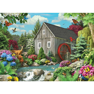 Country Mill 500 Piece Jigsaw Puzzle