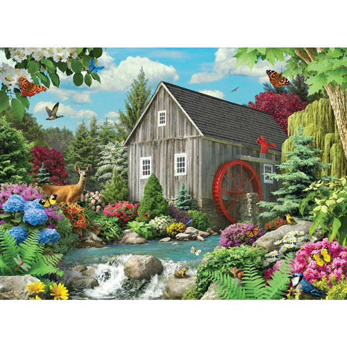Country Mill 1500 Piece Jigsaw Puzzle