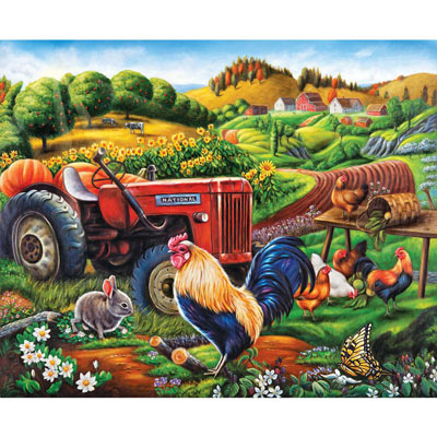 On The Farm 1000 Piece Jigsaw Puzzle