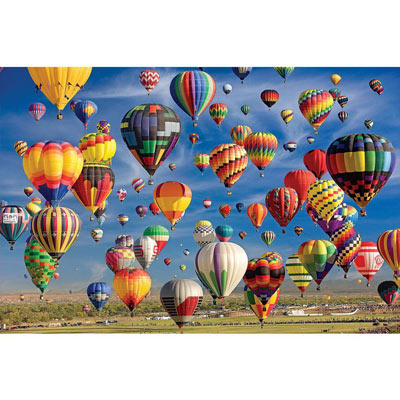 Sky Full of Balloons 2000 Piece Jigsaw Puzzle