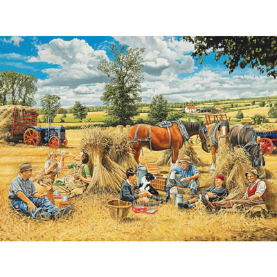 Harvest Lunch 1000 Piece Jigsaw Puzzle