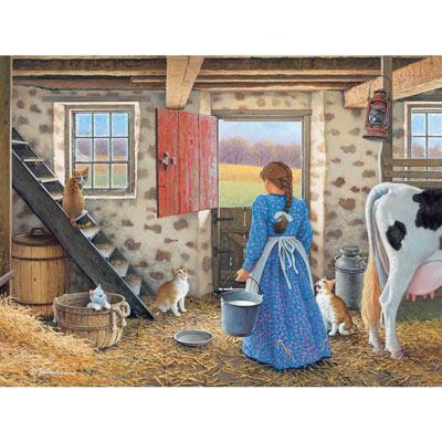Get The Milk 500 Piece Jigsaw Puzzle