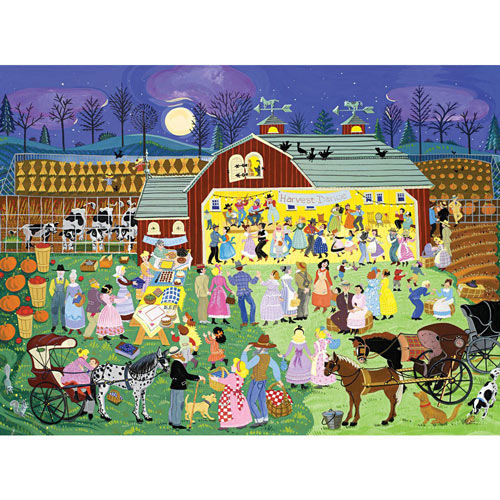 Harvest Dance 500 Piece Jigsaw Puzzle