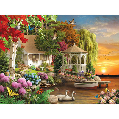 Heaven On Earth 1000 Piece Jigsaw Puzzle