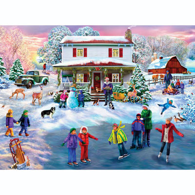 Christmas Cocoa 300 Large Piece Jigsaw Puzzle