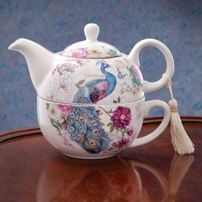 Tea For One- Peacocks