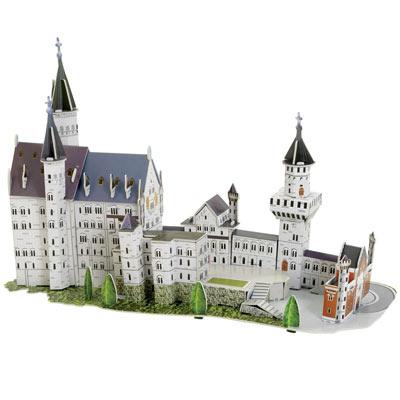 Neuschwanstein Castle 3-D Puzzle Model