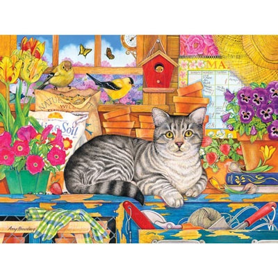 Percy The Head Gardener 500 Piece Jigsaw Puzzle