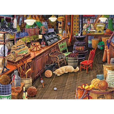 Walt's Sporting Goods 300 Large Piece Jigsaw Puzzle