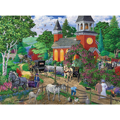 After Service 300 Large Piece Jigsaw Puzzle