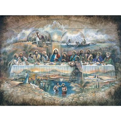 The Last Supper 500 Piece Jigsaw Puzzle