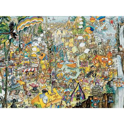 Crazy BBQ 1000 Piece Jigsaw Puzzle