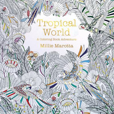 Tropical World Colour Book