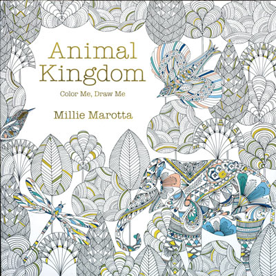 Animal Kingdom Colour Book
