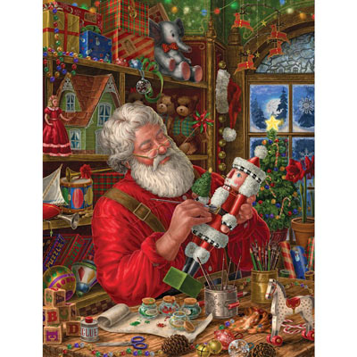Workshop Santa 500 Piece Jigsaw Puzzle