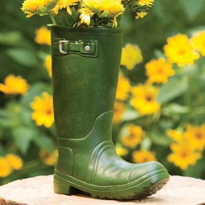 Garden Boot Vase