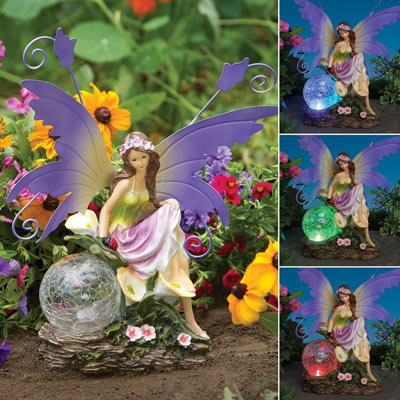 Color Changing Solar Fairy