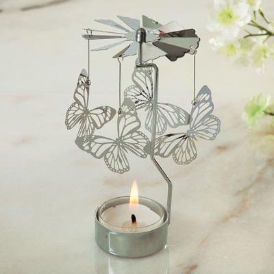 Butterfly Spinning Tea Light