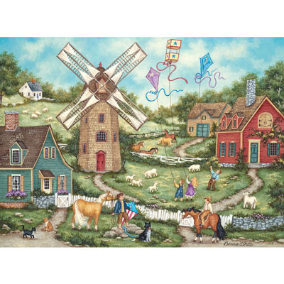 Flying High 1000 Piece Jigsaw Puzzle