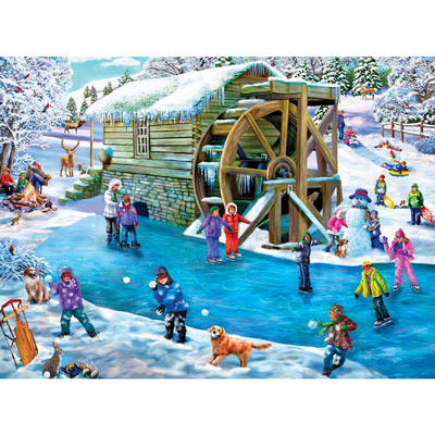 Frozen Fun 500 Piece Jigsaw Puzzle