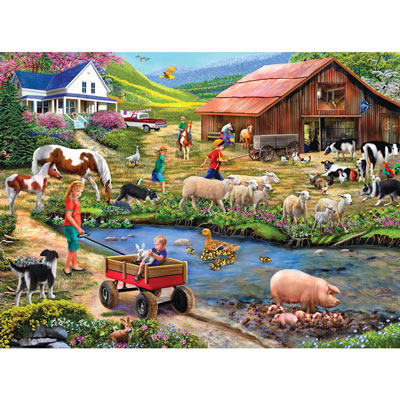 Watering Hole 1000 Piece Jigsaw Puzzle