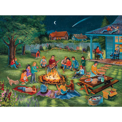 Summertime Memories 500 Piece Jigsaw Puzzle