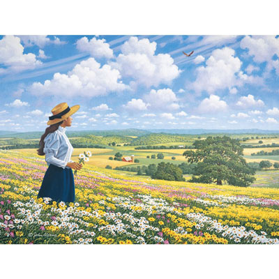 Heaven And Earth 300 Large Piece Jigsaw Puzzle