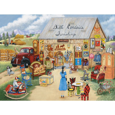 Bill's Roadside Furnishings 500 Large Piece Jigsaw Puzzle