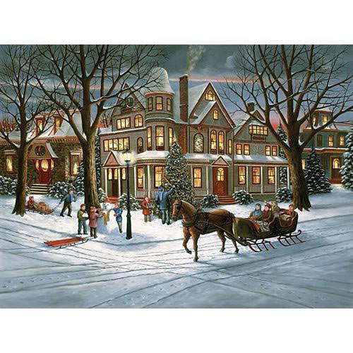 Victorian Christmas 1000 Piece Jigsaw Puzzle