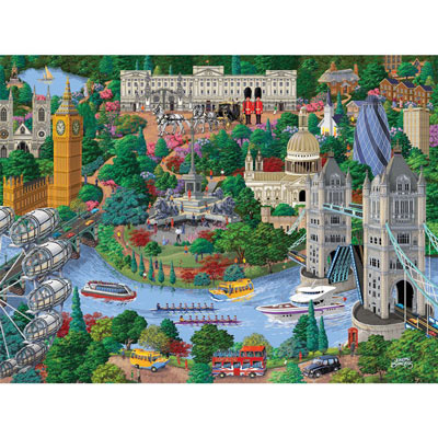 London 300 Large Piece Jigsaw Puzzle