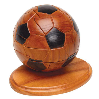 Wooden Football Puzzle