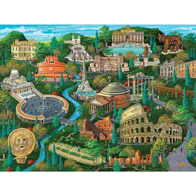 Rome 1000 Piece Jigsaw Puzzle