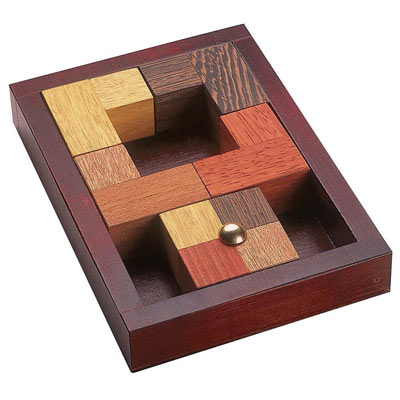 The Hole In One Sliding Pz Brainteaser