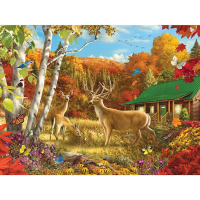 Somewhere In A Field III 500 Piece Jigsaw Puzzle