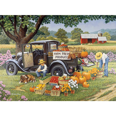 Home Grown 1000 Piece Jigsaw Puzzle