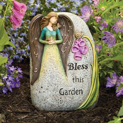 Bless This Garden Angel