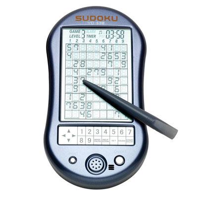 Electronic Deluxe Handheld Sudoku