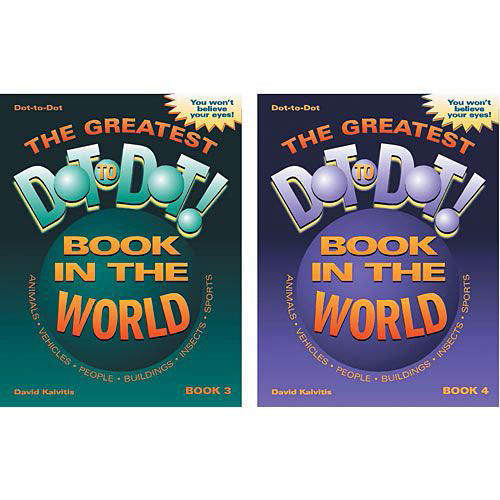 The Greatest Dot-To-Dot Super Challenge Books: Volumes 3 & 4