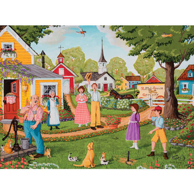 Ringer 500 Piece Jigsaw Puzzle