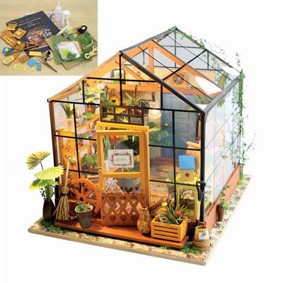 Amazing Greenhouse Model Kit