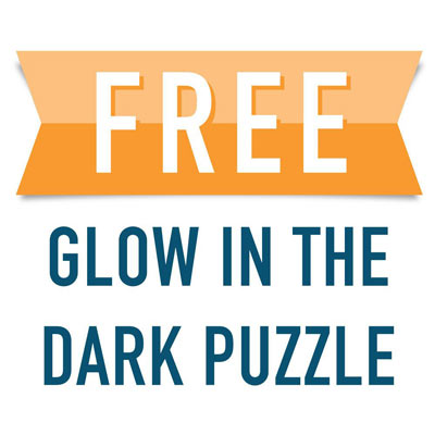 Free Glow-In-The-Dark Jigsaw Puzzle