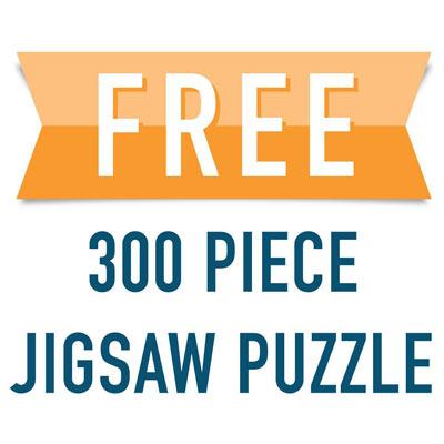 Free 300 Large Piece Jigsaw Puzzle