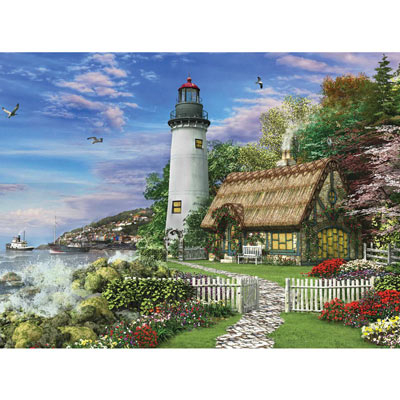 The Old Sea Cottage 500 Piece Jigsaw Puzzle