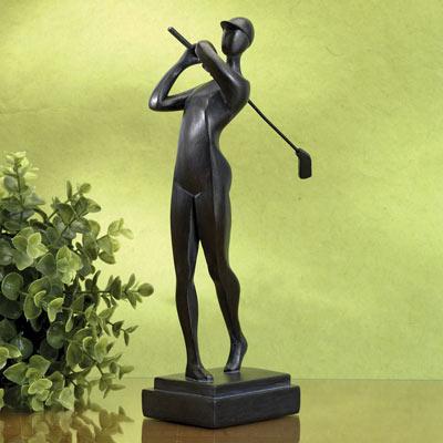 Favourite Pastime Golfer Statue