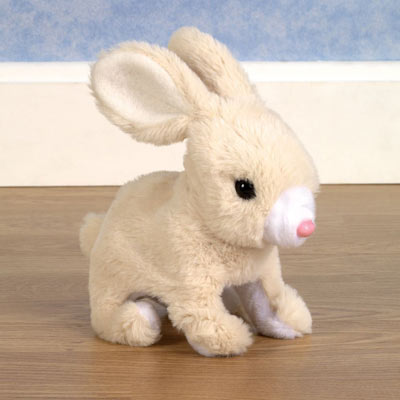 Hoppy Bunny Plush Toy