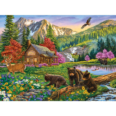 Mountain Hideaway 1000 Piece Jigsaw Puzzle