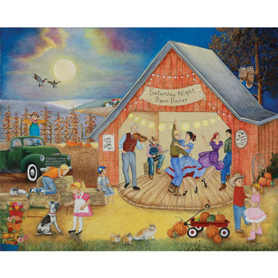 Barn Dance 1000 Piece Jigsaw Puzzle