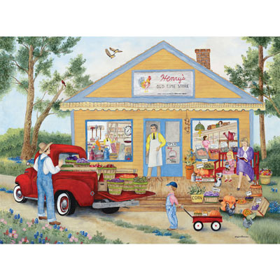 Henry's Old Time Store 1000 Piece Jigsaw Puzzle